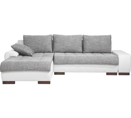 Wohnlandschaft In Textil Grau Weiss Online Kaufen Xxxlutz