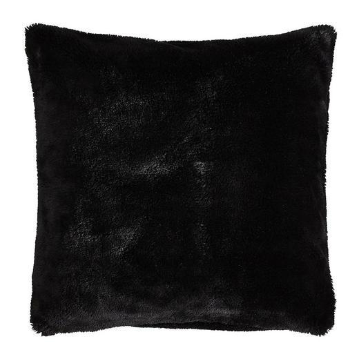 KISSENHÜLLE Schwarz 50/50 cm - Schwarz, Design, Textil (50/50cm) - Novel