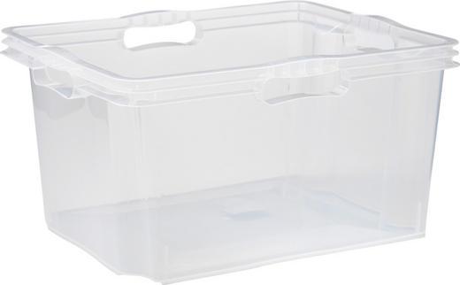 BOX Kunststoff Transparent - Transparent, Design, Kunststoff (43/23/35cm) - CARRYHOME