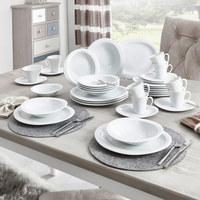 Porzellan  KAFFEESERVICE 18-teilig   - Weiß, Basics, Keramik - Seltmann Weiden