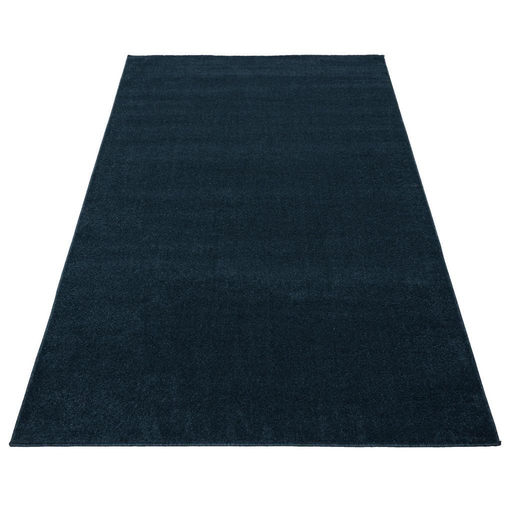 Novel Webteppich 80/150 cm blau