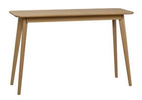 SKRIVBORD - ekfärgad, Design, trä (120/40/75cm) - Rowico