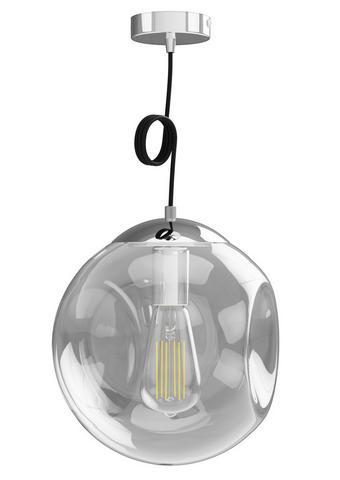 HÄNGELEUCHTE - Klar, Design, Glas (30cm) - Dieter Knoll