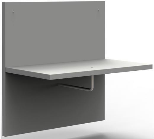 GARDEROBENPANEEL 60/60/32,2 cm - Hellgrau, Design, Holzwerkstoff (60/60/32,2cm)