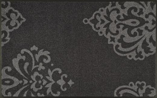 FUßMATTE 75/120 cm Graphik Grau - Grau, Kunststoff/Textil (75/120cm) - Esposa
