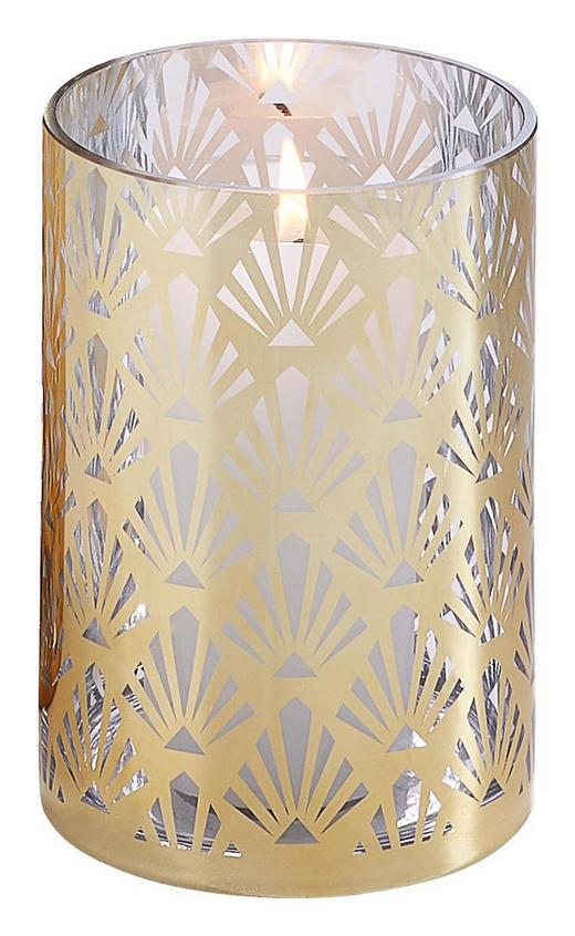 WINDLICHT - Goldfarben, LIFESTYLE, Glas (12/18cm)