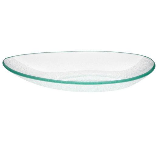 SERVIERPLATTE - Klar, Design, Glas (22,3/3,2/13,5cm) - Homeware