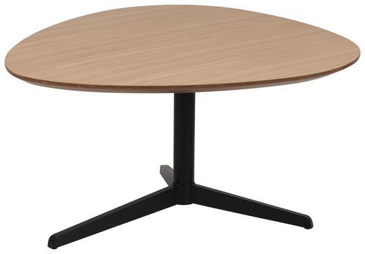 KLUB STOLIĆ - boje hrasta/crna, Design, drvo/metal (77/84/48cm) - Hom`in