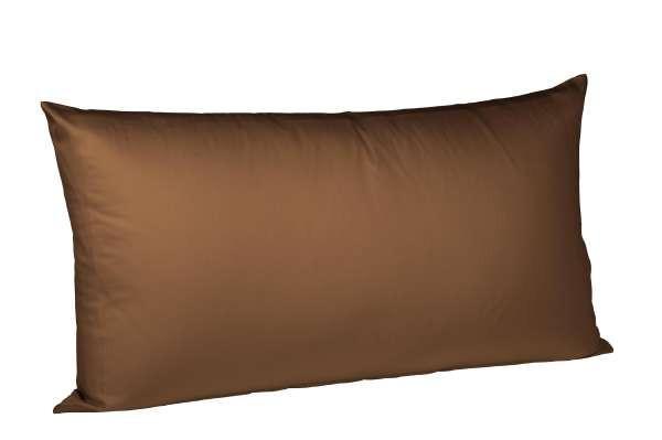 KISSENHÜLLE Dunkelbraun 40/80 cm - Dunkelbraun, Basics, Textil (40/80cm) - FLEURESSE