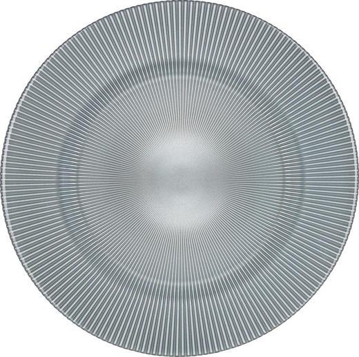 TANJUR UKRASNI - svijetlo siva, Basics, staklo (34cm) - Novel