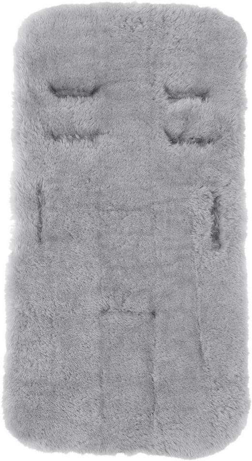 KINDERWAGENEINLAGE - Grau, Natur, Textil (40/75cm) - Jimmylee