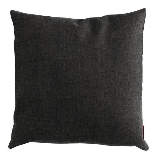 KISSEN 50/50 cm - Dunkelgrau, Design, Textil (50/50cm) - Innovation