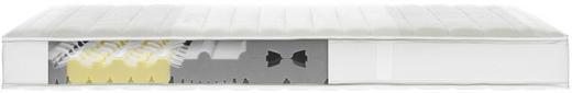 KALTSCHAUMMATRATZE 90/200 cm - Weiß, Textil (90/200cm)