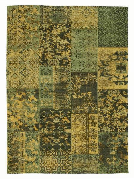 FLACHWEBETEPPICH  250/350 cm  Grün - Grün, Basics, Textil (250/350cm) - Novel
