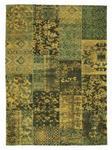 VINTAGE-TEPPICH ALANIS ALLOVER  - Grün, LIFESTYLE, Textil (120/180cm) - Novel