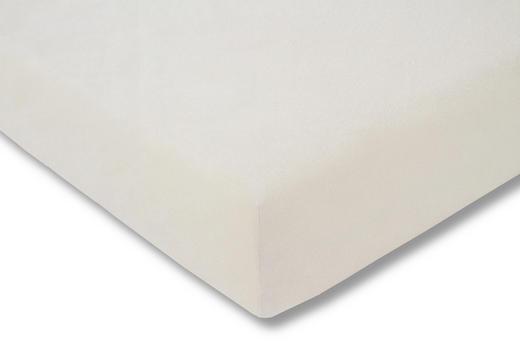 SPANNBETTTUCH Creme bügelfrei - Creme, Basics, Textil (150/200cm) - Estella