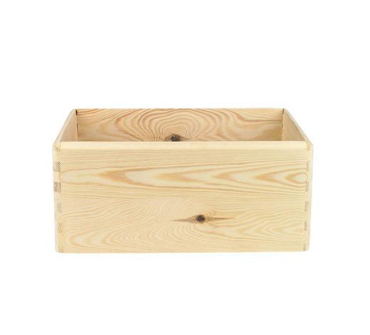 BOX, dřevo - Natur, dřevo (30/20/14cm)
