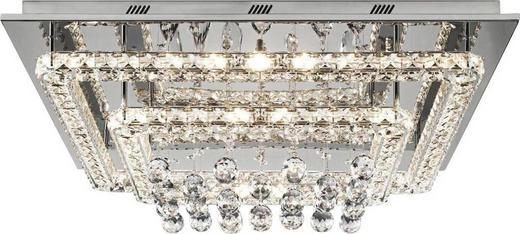 LED-TAKLAMPA - kromfärg, Lifestyle, metall/glas (55/55/20cm) - GLANDOR