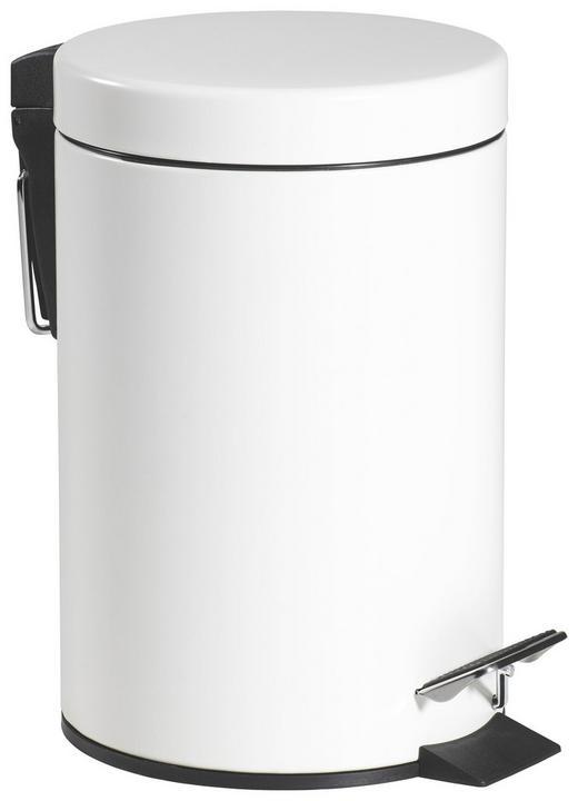 KOSMETIKEIMER 3 L - Schwarz/Weiß, Basics, Kunststoff/Metall (17/26cm)