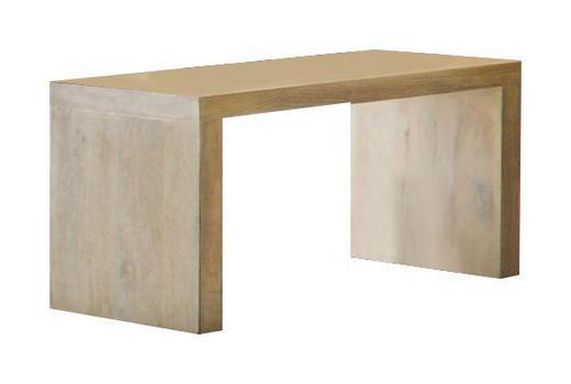 NACHTKÄSTCHEN Eiche massiv gebürstet, geölt - Design, Holz (48/32/38cm) - Hasena