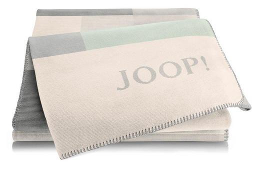 WOHNDECKE 150/200 cm Anthrazit, Mintgrün, Naturfarben, Sandfarben, Silberfarben - Sandfarben/Anthrazit, Textil (150/200cm) - Joop!