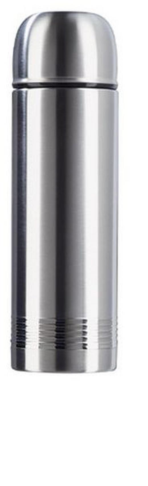 ISOLIERFLASCHE 1,0 L - Edelstahlfarben, Basics, Metall (1l) - EMSA