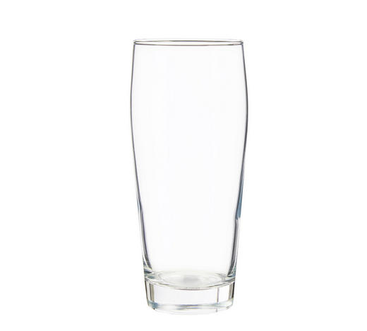 Trinkglas - Transparent, Basics, Glas (0,5l) - Homeware