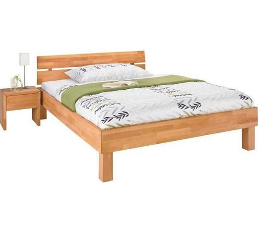 POSTEL, 140/200 cm, dřevo, přírodní barvy - přírodní barvy, Design, dřevo (140/200cm) - Carryhome