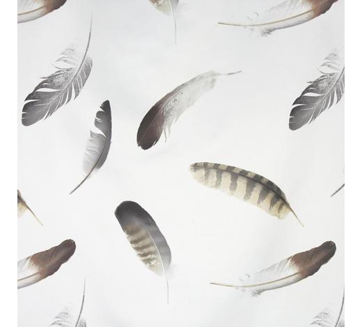 DEKOSTOFF per lfm blickdicht - Weiß, KONVENTIONELL, Textil (150cm) - Esposa