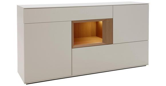 SIDEBOARD 180/92/47 cm - Eichefarben/Weiß, Design, Holz/Holzwerkstoff (180/92/47cm) - Dieter Knoll