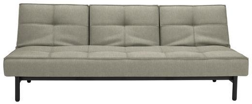 SCHLAFSOFA in Textil Schwarz, Hellbraun - Hellbraun/Schwarz, Design, Holz/Textil (210/79/90cm) - Innovation