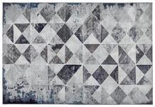 WEBTEPPICH  133/190 cm  Blau, Grau - Blau/Grau, Textil/Weitere Naturmaterialien (133/190cm) - Novel