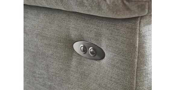 WOHNLANDSCHAFT in Textil Rot  - Rot/Alufarben, Design, Textil/Metall (170/333/265cm) - Dieter Knoll