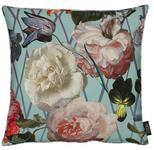KISSENHÜLLE Multicolor, Rosa, Türkis 46/46 cm  - Türkis/Multicolor, Textil (46/46cm) - Landscape