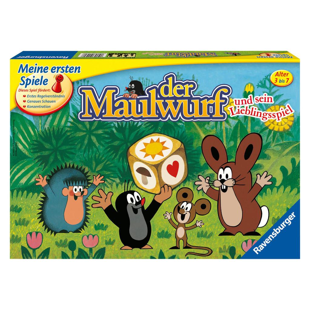 Lernspiel 'Der Maulwurf und sein Lieblingsspiel' von Ravensburger