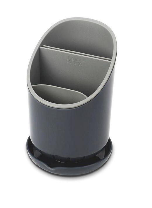 CJEDILO ZA SUDOPER - bijela/tamno siva, Basics, plastika (12/12,7/19cm)