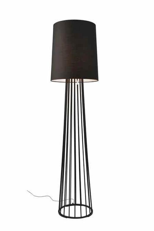 STEHLEUCHTE - Schwarz, LIFESTYLE, Textil/Metall (40/155cm) - Villeroy & Boch