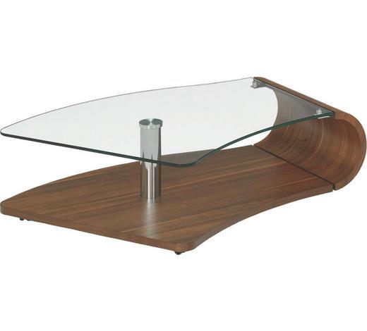Couchtisch In Glas Holz Metall 132 90 34 Cm Online Kaufen Xxxlutz