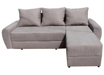 SJEDEĆA GARNITURA - boje pijeska, Design, tekstil (235/160/80cm)