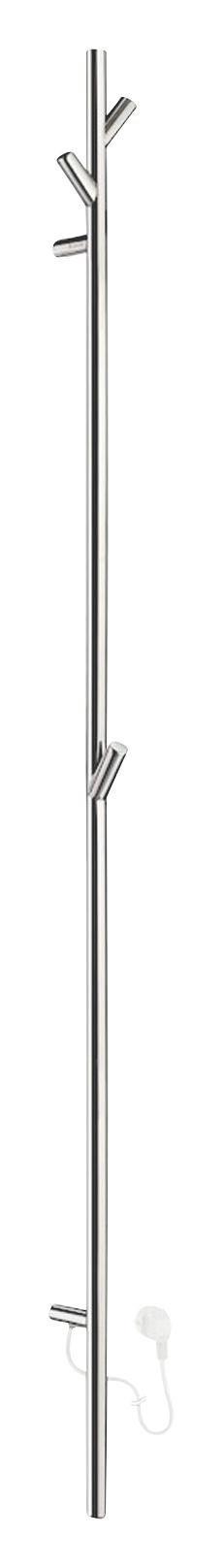 HANDTUCHTROCKNER Edelstahlfarben - Edelstahlfarben, Basics, Metall (8/172cm)