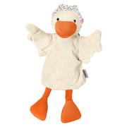 HANDPUPPE - Beige/Orange, Basics, Textil (35cm) - Sterntaler