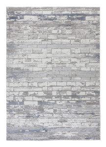 VÄVD MATTA 160/230 cm  - grå, Design, textil (160/230cm) - Novel