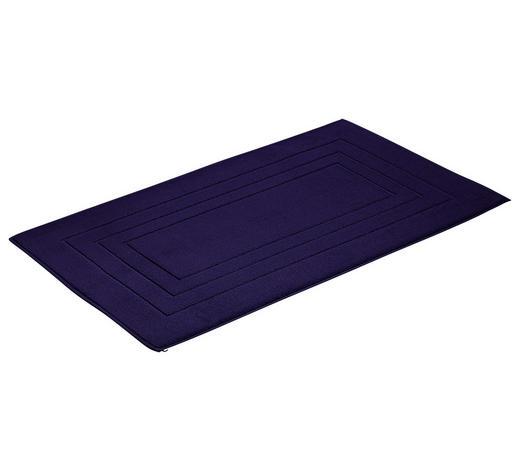 BADTEPPICH in Blau 60/100 cm  - Blau, Basics, Textil (60/100cm) - Vossen