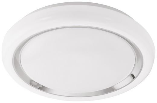 STROPNA LED SVETILKA CAPASSO-C - bela/krom, Trendi, kovina/umetna masa (34/8,5cm)