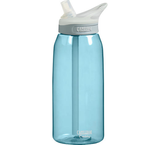 TRINKFLASCHE 1,0 l  - Blau, Design, Kunststoff (1,0l)