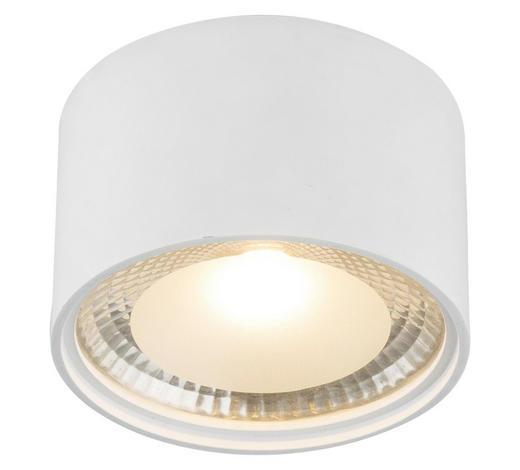 LED-DECKENLEUCHTE   - Weiß, Design, Metall (11,3/8cm)