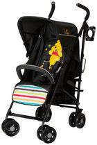 BUGGY Speed Plus Pooh Tidy Time - Schwarz, Basics, Textil/Metall (46/108/77cm) - HAUCK
