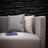 KISSENHÜLLE Beige 60/60 cm - Beige, KONVENTIONELL, Textil (60/60cm) - Joop!