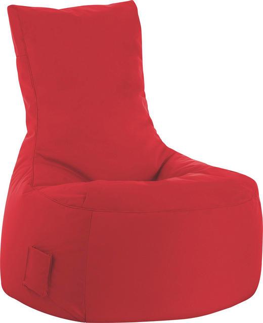 SITZSACK Rot - Rot, Design, Textil (90/95/65cm) - Carryhome