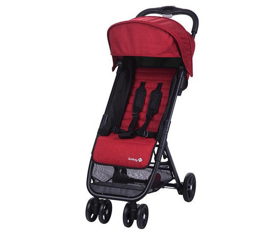 BUGGY  Teeny  Rot  - Rot/Schwarz, Basics, Textil/Metall (44/79/104cm) - Safety 1st